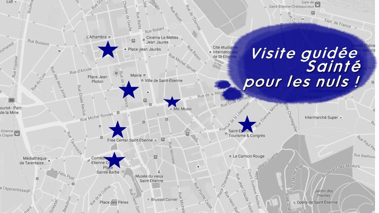 Visite Guidee Sainte Pour Les Nuls