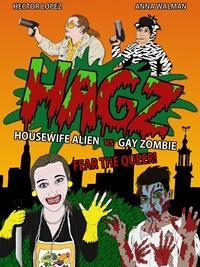 Affiche projection Femme au foyer extra-terrestre contre zombie gay avec réalisateur et actrice