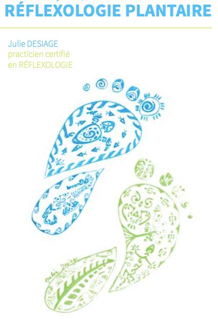 Julie Desiage, Réflexologie plantaire