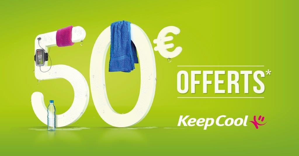 Keep COOL : 50 euros offerts