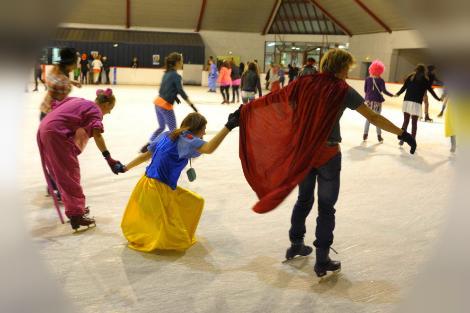 Une entrée gratuite pour la patinoire