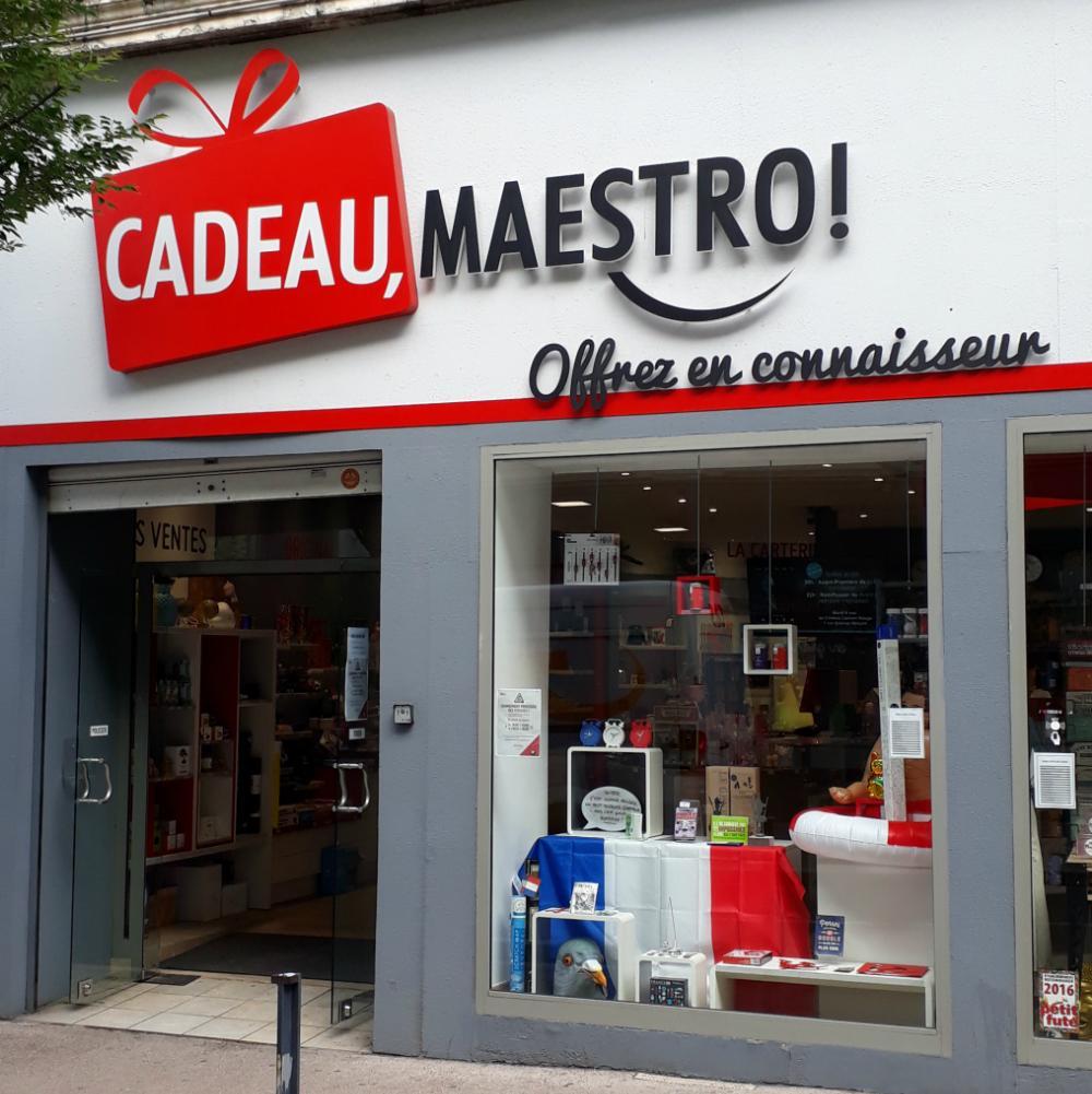 - 10% chez Cadeau Maestro